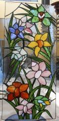 VITRAL FLORES SILVESTRES